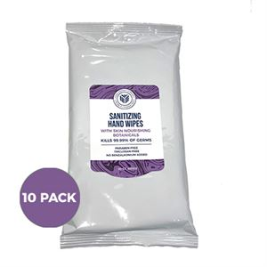 Picture of Sanitizing Hand Wipes- 30ct 10-Pack